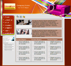 website template sample