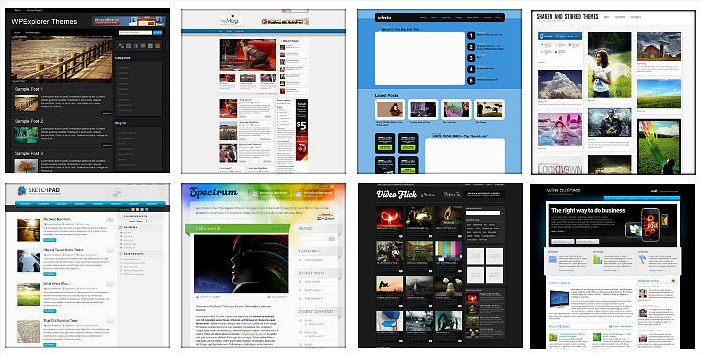 Capture-wp theme
